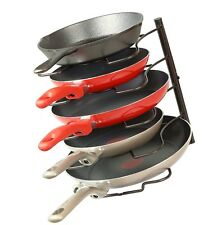 SimpleHouseware Kitchen Cabinet Pantry Pan and Pot Lid Organizer Rack Holde