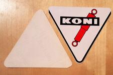 Je 2 Stück von Koni Aufkleber + Sticker aus den 80er + Stossdämpfer + Decal