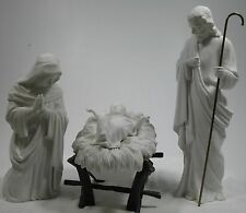 Dept 56 Silhouette Nativity Scene Set of 4 Antique Reproduction 67717 Exc.