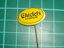 Chiclets logo kauwgom chewing gum - stick pin badge 60's speldje Dutch
