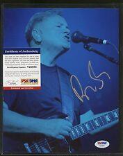 Bernard Sumner Signed 8x10 Photo PSA/DNA COA  AUTO Autograph Stock Photo