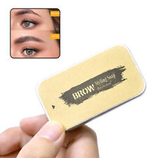 1pc Eyebrow Shaping Soap Long Lasting Eyebrow Makeup Styling Gel Wax with Brush
