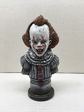 PENNYWISE THE DANCING CLOWN IT BUST STATUE HAND MADE HORROR ART SCULPTURE