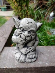 New Concrete Garden Ornament Gargoyle..