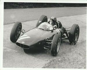 Graham Hill - BRM - German Grand Prix 1962 - press photograph