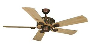"Vaxcel Log Cabin 52"" Ceiling Fan Weathered Patina FN52265WP"