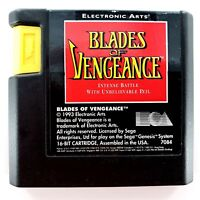 Blades of Vengeance (Sega Genesis, 1993) Authentic Cartridge Only Tested & Works