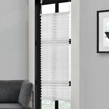 plissée 35x125cm blanc -Sans perceuse PLIAGE DES AVEUGLES