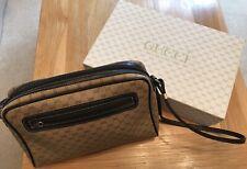 Gucci Vintage Monogram Micro GG Shoulder/Crossbody Bag 1980's