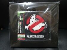 GHOSTBUSTERS OST Japan Limited Edition with tote bag & original sticker