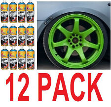 12 PACK - New GREEN  Plasti Dip 13.5 oz Spray Can Rubber coating Removable Paint
