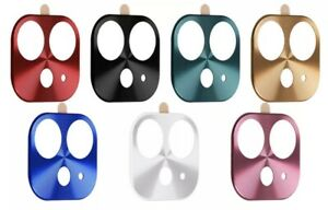For Apple iPhone 11 (6.1) Full Cover Metal Camera Lens Screen Protector Case