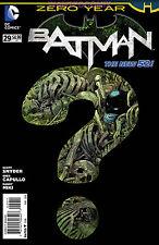 Batman #29 New March 2014 4.99 Cover Price Dark City Zero Year Scott Snyder Dc 1