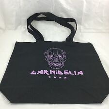 J-Pop GARNIDELIA Black Purple Skull Tote Bag SF Summit Expo
