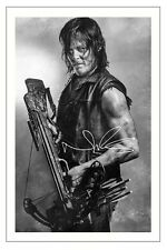 Norman Reedus The Walking Dead Season 6 Signed 6x4 Photo Print Daryl Dixon