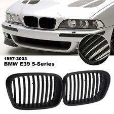 Front Grill SPORT NIEREN KÜHLERGRILL SCHWARZ MATT FÜR BMW 5ER E39 1995-2003 530i