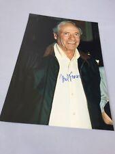 Mel Ferrer († 2008) In-personne signed propres-Photo 20 x 30 autographe RARE