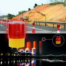 Solar Car Truck Boat LED Emergency Warning Flash Light Strobe Beacon Alarm Lamp