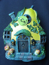 New Resin Light Up Fairy Gourd Cottage House For Fairy Or Gnome Garden