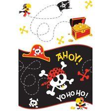 Tutto in plastica compleanno bambino per la tavola per feste e party, tema pirati