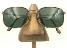 Vintage Lamy FoxHunt CC32 L124 Antique Gold Square Sunglasses Frames France