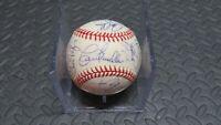 1993 Cincinnati Reds Team Signed Official NL Baseball! Sabo, Larkin, Perez! MLB