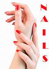 SALON SPA Bellezza Salute Unghie Manicure POSTER stampati A3 260GSM