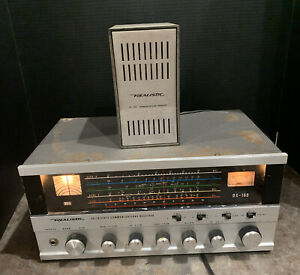 Realistic Shortwave Solid State Radio Receiver DX-160 with SP-150 Speaker