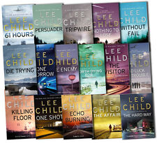 Lee Child Collection Jack Reacher Complete Series 16 Books Set The Affair