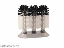 Brush, Bar Glass Washer, Manual, 3 Head New 83157