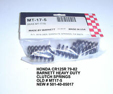 HONDA 125R RS125 79-82  SUZUKI VL1500 VL 1500 CLUTCH SPRINGS BARNETT NEW 17-5