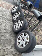 4 Alufelgen original OPEL OMEGA B 7Jx16H2 5x112 ET39 mit Reifen für einen Sommer