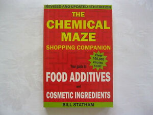 THE CHEMICAL MAZE SHOPPING COMPANION 4th Edition by BILL STATHAM