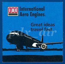 V2500 INTERNATIONAL AERO ENGINES GREAT IDEAS TRAVEL FAST SMALL STICKER