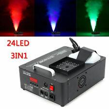 DJ DMX RGB LED Bühnenlicht Nebelmaschine Lichteffekt Machine mit Fernbedienung