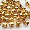 100pcs Mix Christmas Jingle Bell Loose Beads Charms Jewelry Bracelet Making