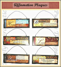 Abstract Decorative Wall Plaques