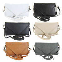 GIGI Othello Women's Leather Clutch Envelope Shoulder Handbag Bag 8361 BNWT