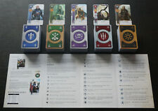 GWENT/GWINT CARDS (5 DECKS) 612 CARDS Witcher 3 FULL SET (ENG EDITION)
