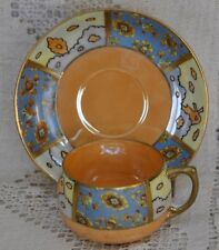 Vintage Mieto China Cup and Saucer Hand Painted in Japan.