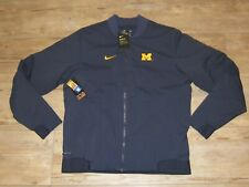 Authentic Michigan Wolverines Nike Shield On-Field Bomber Jacket Men's XL