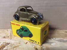 """Die Cast """" Simca 5 """" D E Agostini DINKY Toys (Atlas) Scale 1/43"""
