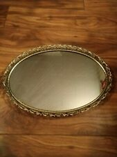 "Vintage Vanity Tray Footed 13""x 9"""