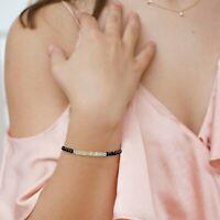 Ethiopian Fire Opal Bracelet 925 Sterling Silver Healing Chakra Gemstone Jewelry