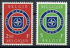 STAMP / TIMBRE DE BELGIQUE / N° 1094/1095 ** 10° ANNIVERSAIRE DE L'OTAN