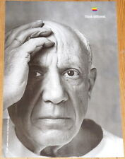 "PABLO PICASSO * APPLE poster * THINK DIFFERENT * 17""/12"" * mint * STEVE JOBS"