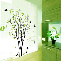 Tree Bird Quote Removable Vinyl Wall Decal Mural Home Art DIY Decor Sticker UK