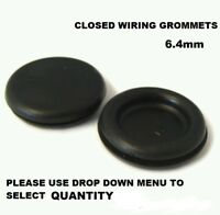 Assorted Blanking Grommets Qty 280 6-25mm Closed Electrical Wiring Cable AT123