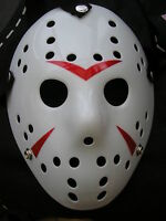 jason voorhees friday 13th hockey halloween plastic horror mask