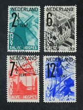 CKStamps: Netherland Stamps Collection Scott#B54-B57 Used